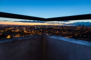 Balcony view of Glasgow - 29th Floor Whitevale