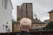 Glasgow High Rise Demolition